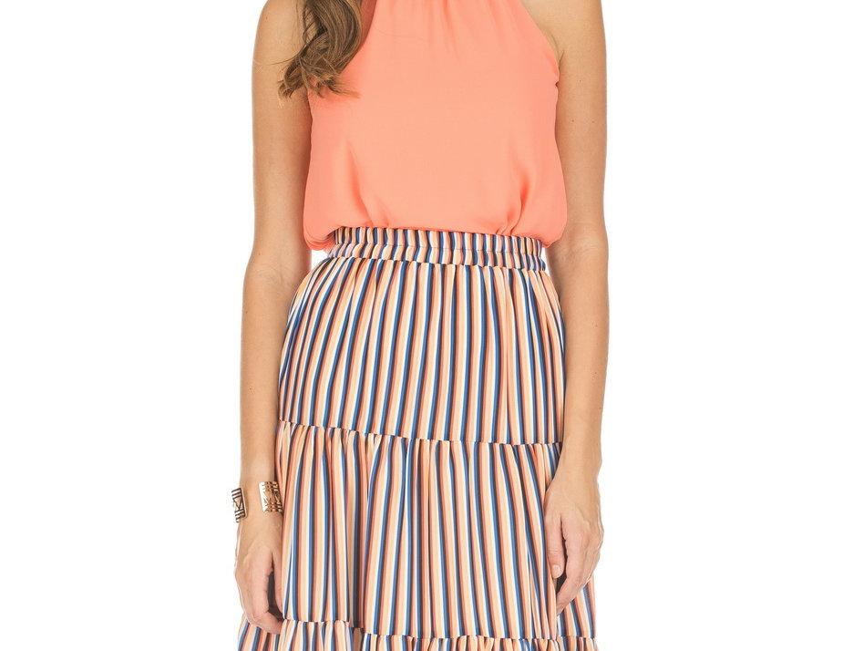 53F3851 • Tangerine Stripes