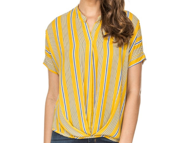 42A3578 • Yellow Stripe  (Min 6 pcs)