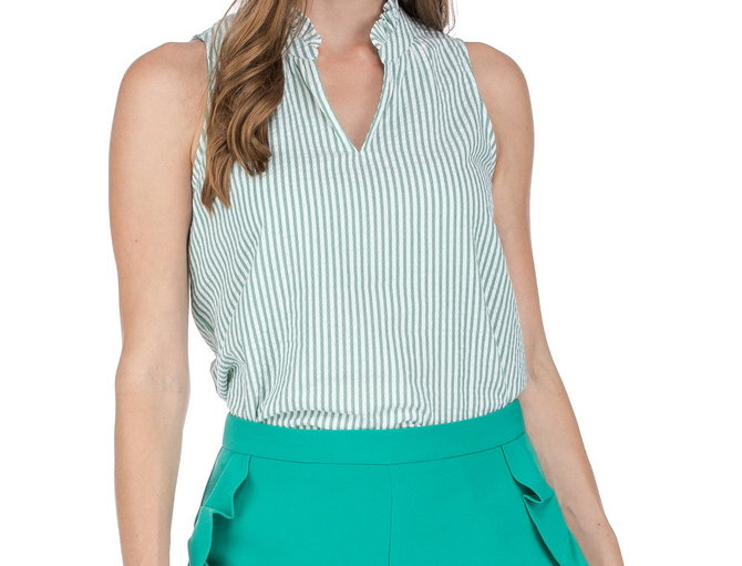 48D9438 • Green Stripe (Min 6 pcs)