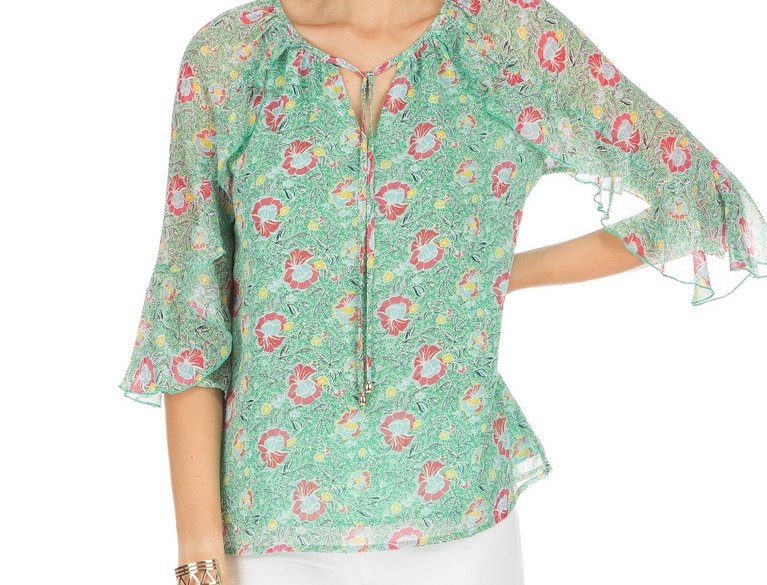 53F9528 • Green Floral
