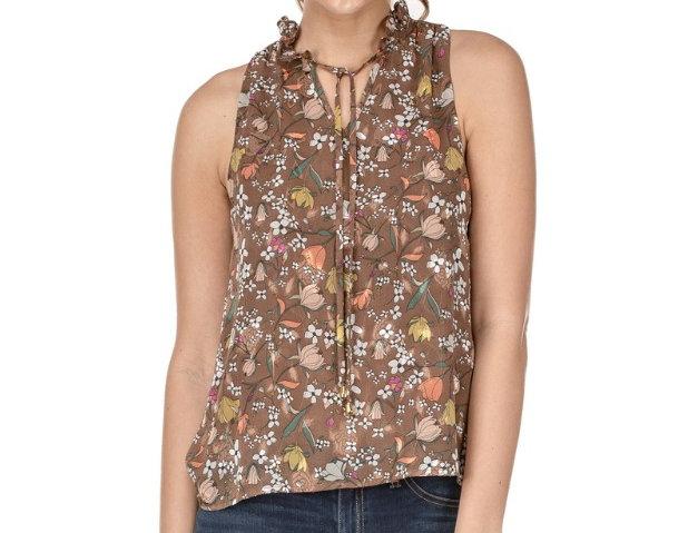 40H9376 • Brownish Floral