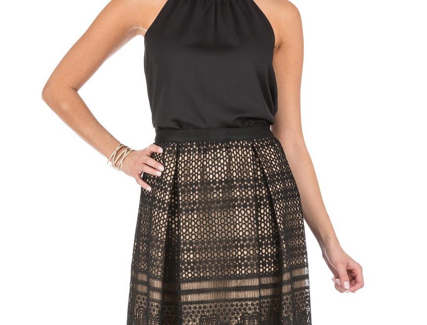 55J3868 • Black (Skirt)