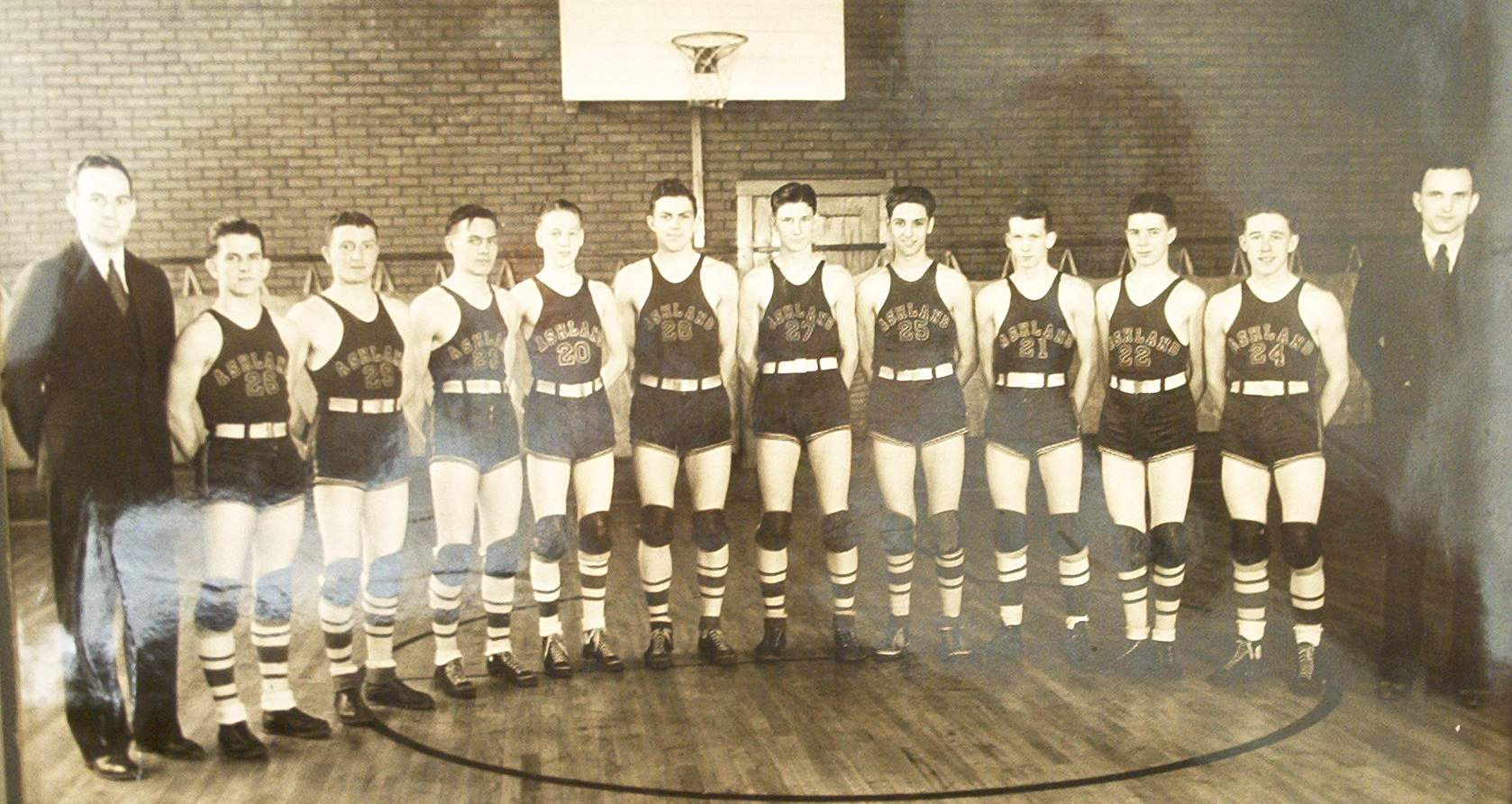 Ashland Basketball Team 1934-35