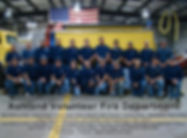 Group picture of Volunteer Fire Department