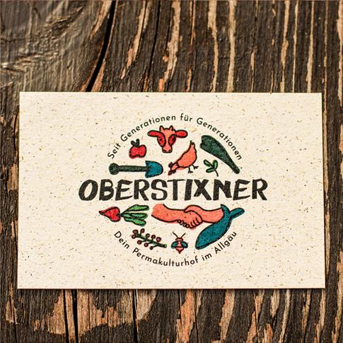 Oberstixner Visitenkarten