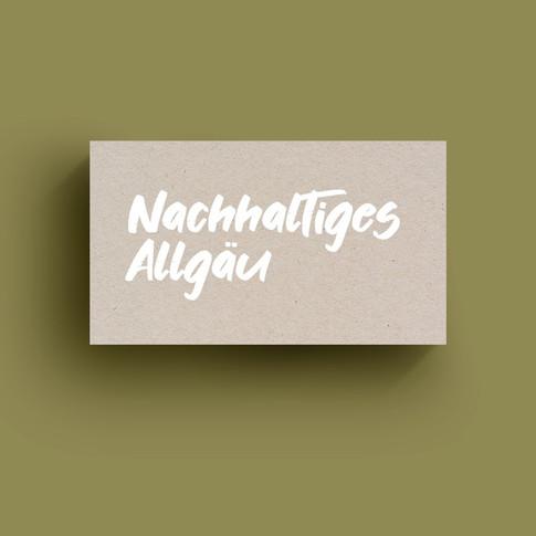 Nachhaltiges Allgäu Logo