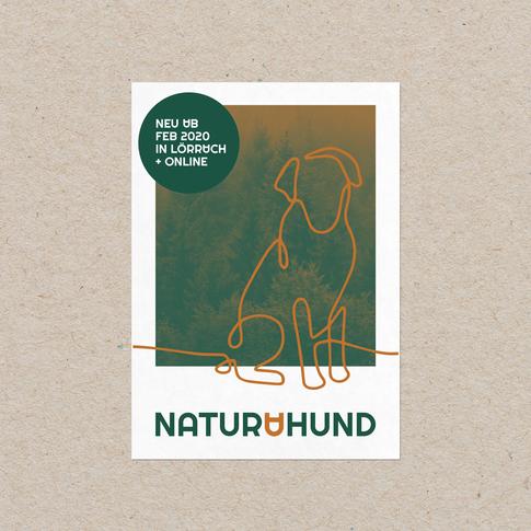 naturahund Postkarten Vorderseite