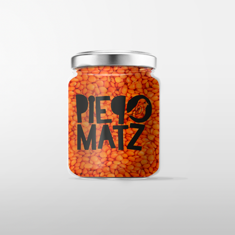 Piepmatz Logo Mock Up Glas