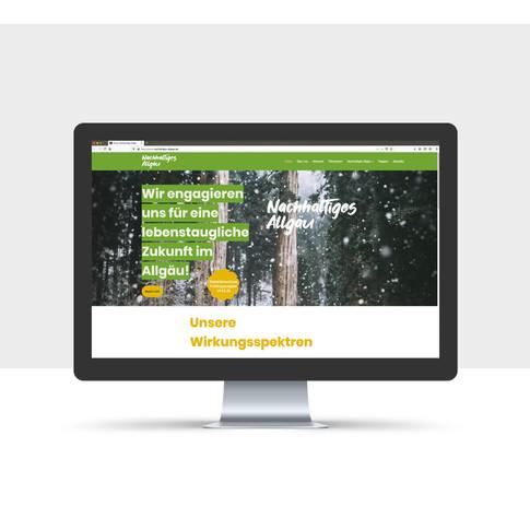 Nachhaltiges Allgäu Website