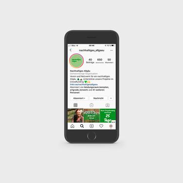 Nachhaltiges Allgäu Instagram