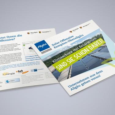 Landratsamt OA Broschüre Solar Offensive