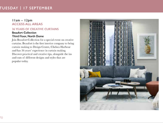 Join us at FOCUS/19 | Creative Curtains Workshop