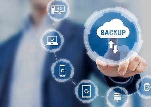 Backup files and data on internet with c