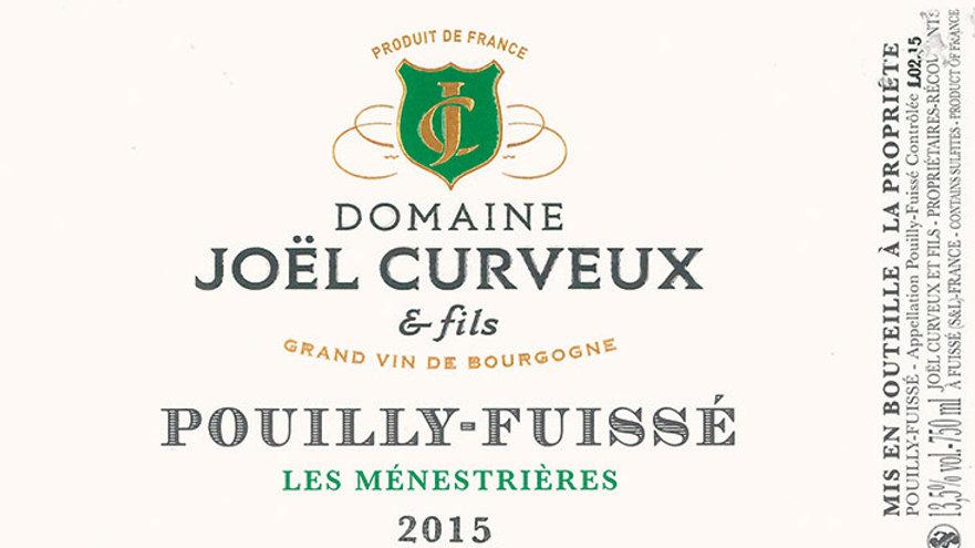 Pouilly fuissé J. Curveux