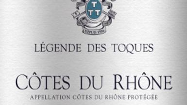 Légendes de Toques - Côtes de Rhône blanc