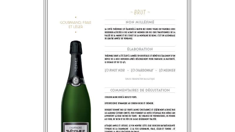 Champagne Théophile Roederer - Brut