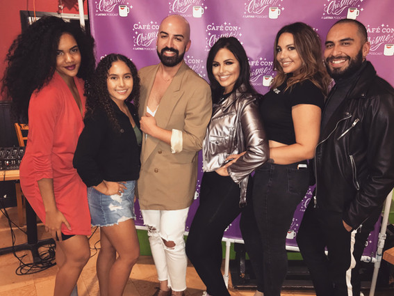 Danyeli, Paola Celeste, Seb, Yaz, Alexis Jade, and Ernesto (from left to right)
