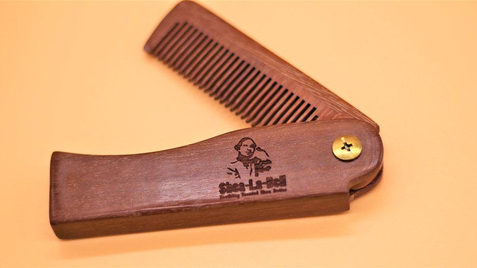Signature Wooden Comb #2
