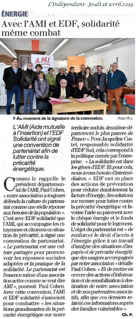 article_L'Indépendant_A2Mains_du_18-04-1