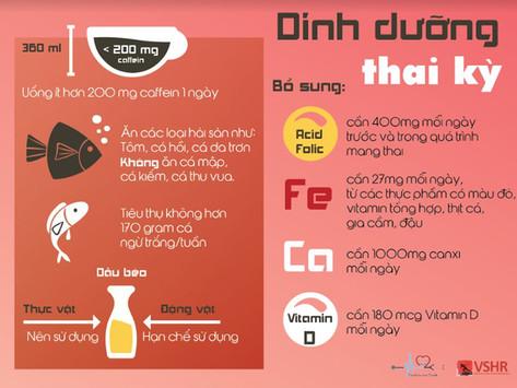 DINH DƯỠNG CHO THAI KỲ