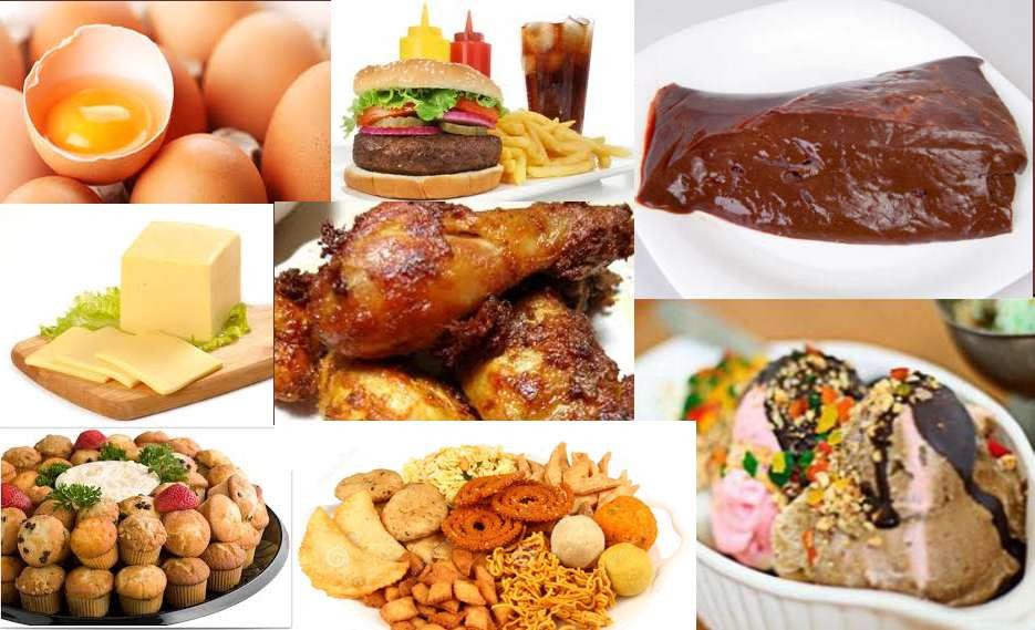 Những thực phẩm chứa nhiều cholesterol