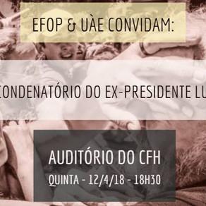 O processo condenatório do ex-presidente Lula
