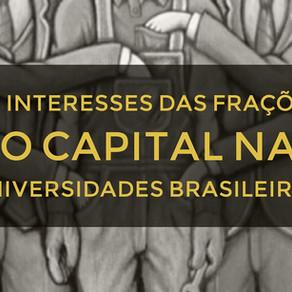 Os interesses das Frações do Capital nas Universidades Brasileiras
