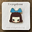 Thumbnail: Alice Enamel Pin