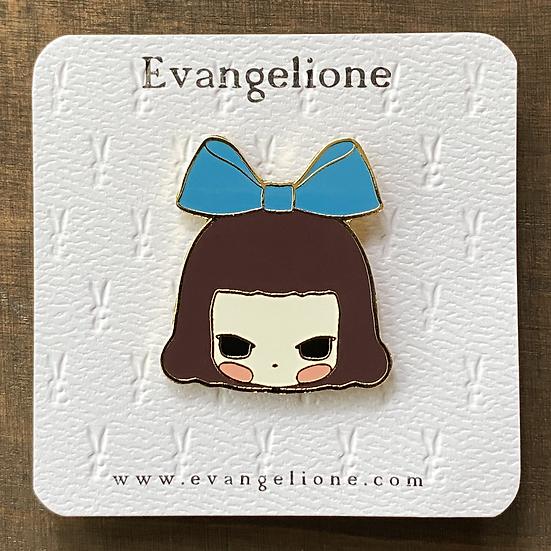 Alice Enamel Pin