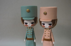 Pastel Colors Toy Soldiers