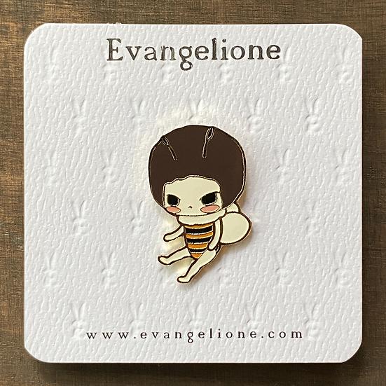Little Bee Enamel Pin