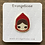 Thumbnail: Red Ridding Hood Enamel Pin