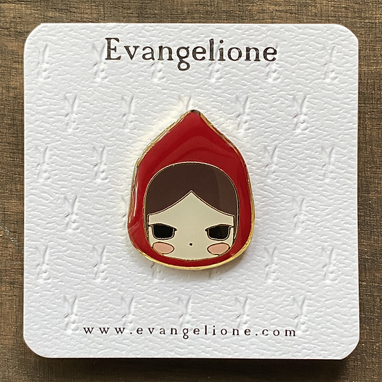 Red Ridding Hood Enamel Pin