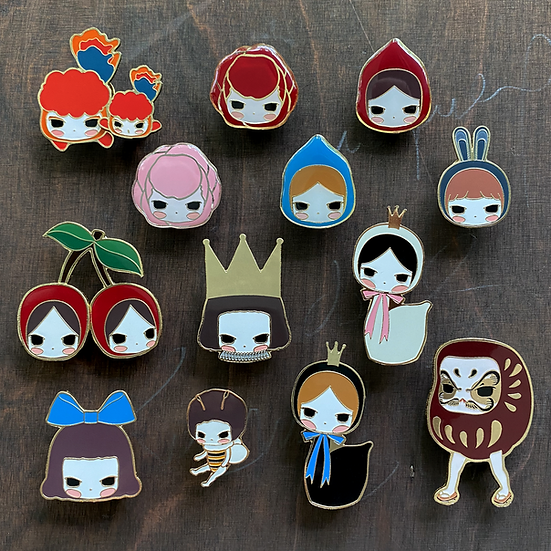 Enamel Pin Group Set