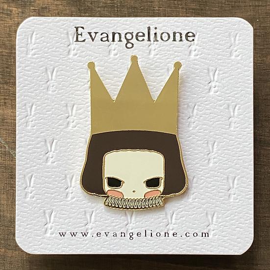 Queen Enamel Pin
