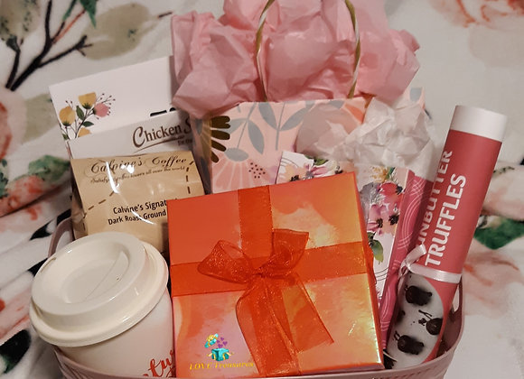 Ruby Basket: 10 premium gifts lm