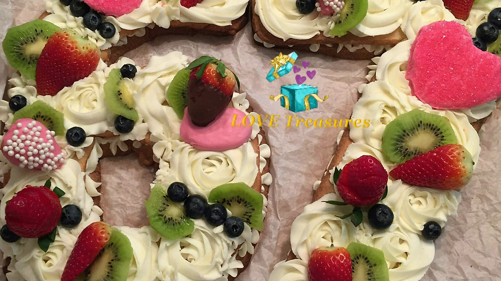"Cookie Cake (16"" x 8"")"