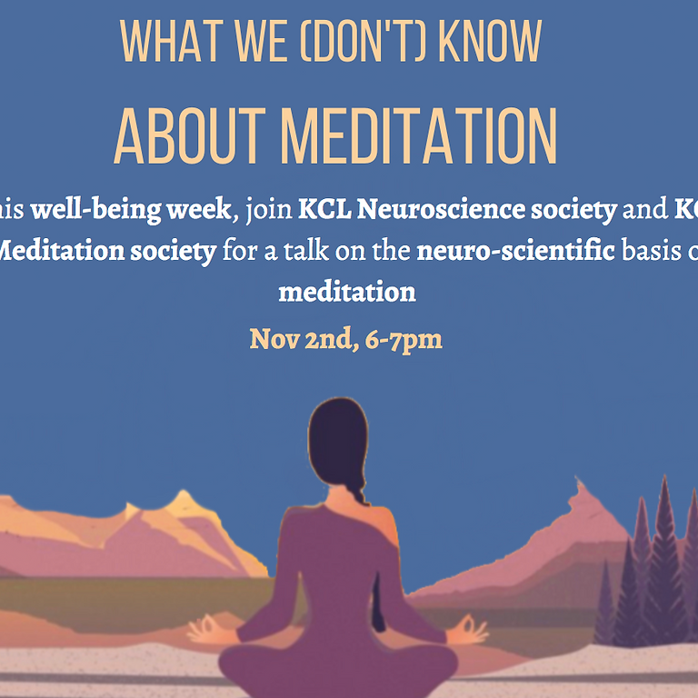 What we (don't) know about meditation
