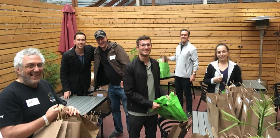 Volunteer Gift Bag Packaging Event