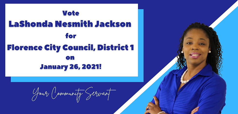 Vote for LaShonda Nesmith Jackson for Fl