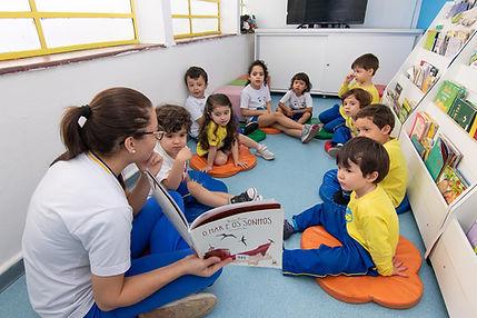 ED. INFANTIL BIBLIOTECA Site Colégio Lua