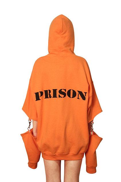"""""""PRISON"""" hoodie"""