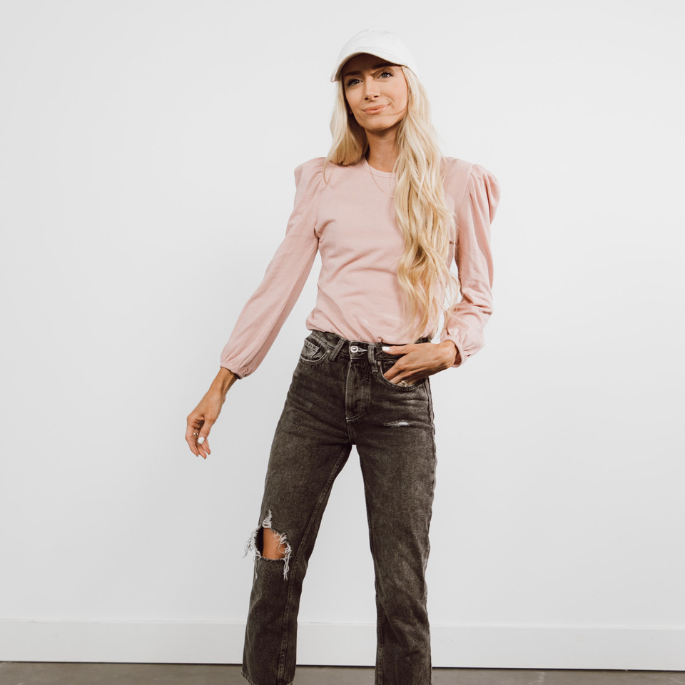 Petra Dusty Pink Top