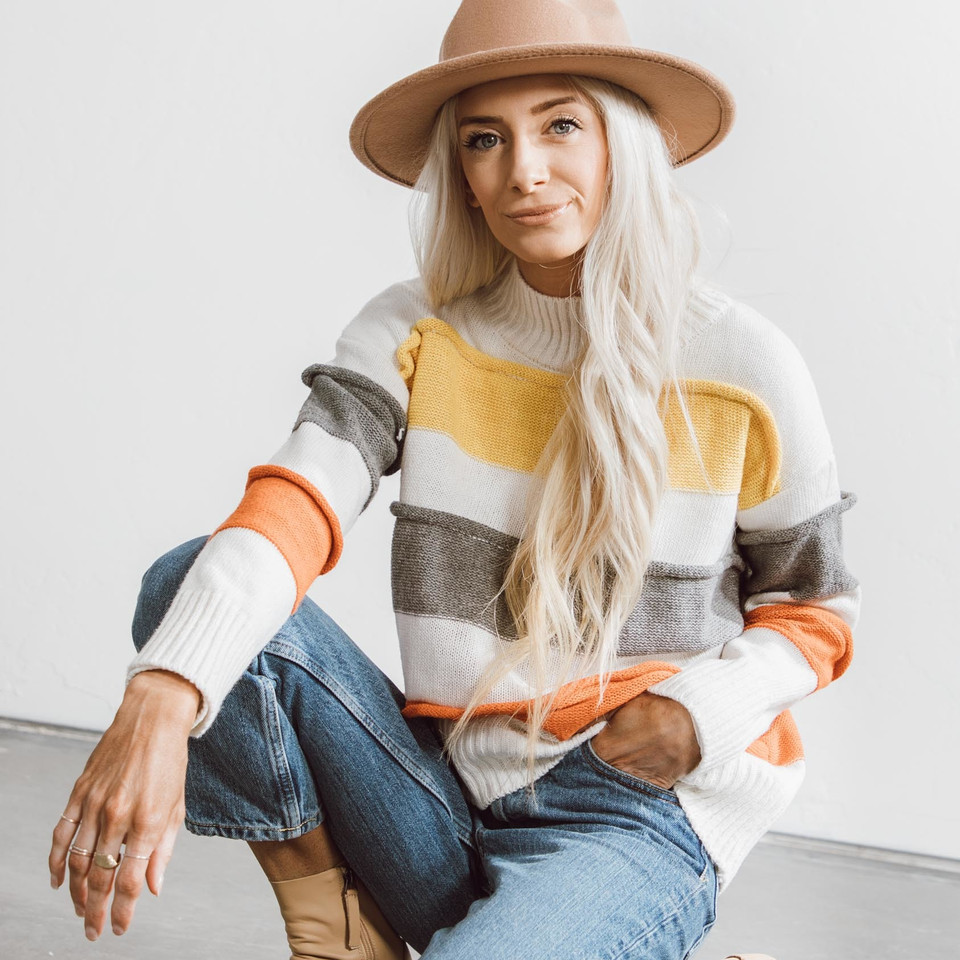 Sami Stripe Sweater