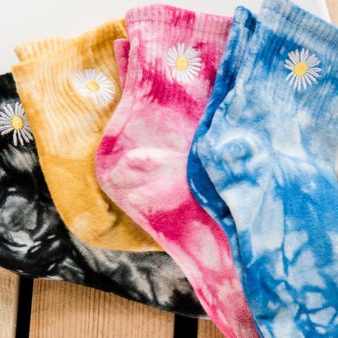 Duke Tie Dye Socks