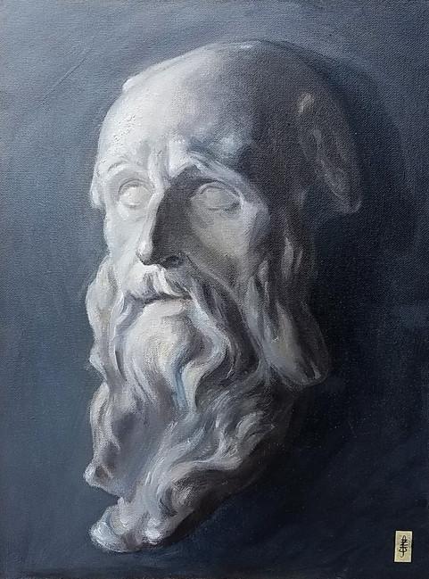 St Benedict Painting