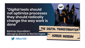 iRevolution features KC Goundiam's article on the difference between change management and digital t