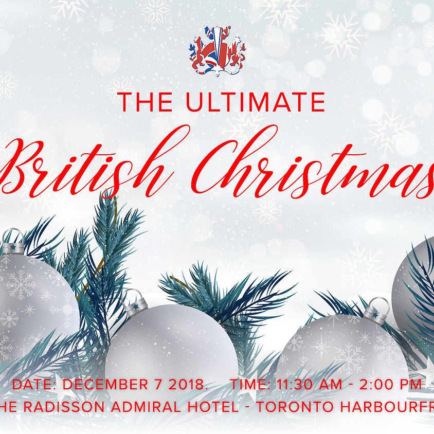 The Ultimate British Christmas Party of 2018!