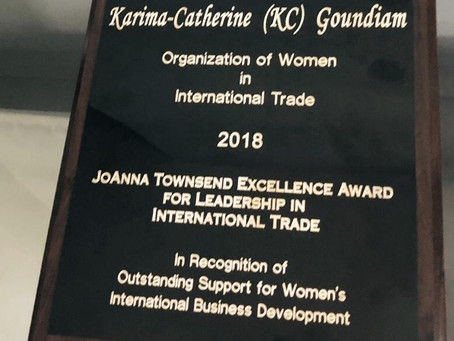 Red Dot Founder Wins the JoAnna Townsend Excellence Award from OWIT