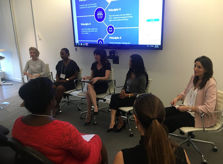 EUCCAN Panel Discussion: Women Mean Business